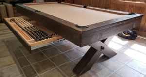 Olhausen Durango Pool Table in Room