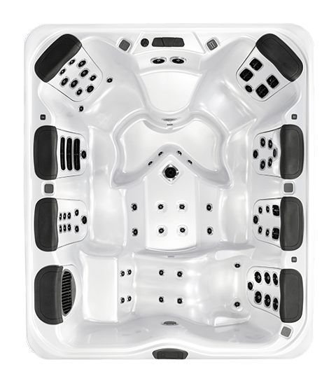 Bullfrog Spas A9L - top view