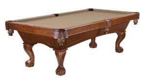 Brunswick Billiards Allenton Pool Table Chestnut Ball and Claw