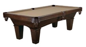 Brunswick Billiards Allenton Pool Table Espresso Tapered Leg