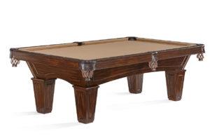 Brunswick Billiards Allenton Pool Table Tuscana Tapered Leg