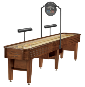 Brunswick Billiards Andover II in Chestnut with Lights and Scorer