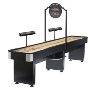 Brunswick Billiards-Shuffleboard-Delray II with Lights and Scorer