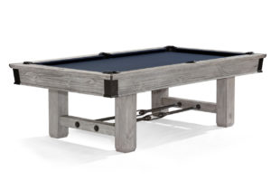 Brunswick Canton Pool Table in Rustic Gray