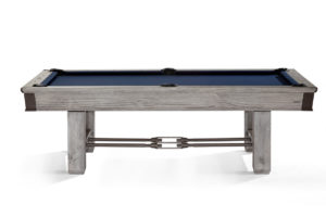 Canton Billiards Table Rustic Gray Profile