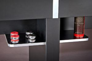 Brunswick Billiards-Shuffleboard-Delray II Storage Shelves