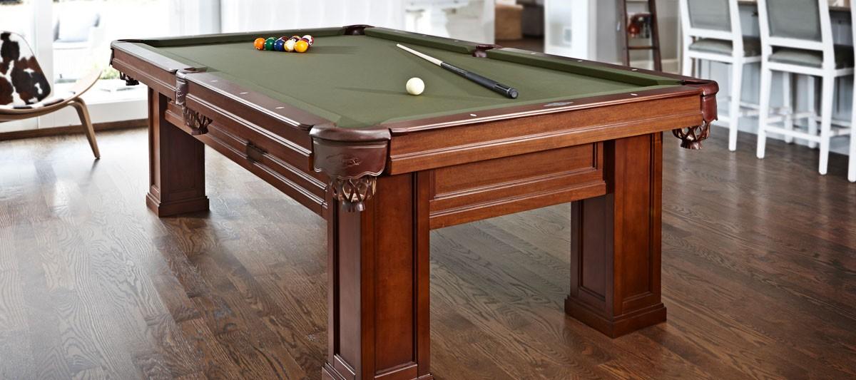 Brunswick Billiards Oakland II Pool Table in Room
