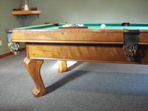 Brunswick Chateau 8' Used Pool Table - View 2