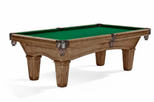 Brunswick Billiards Glenwood Pool Table Rustic Dark Brown