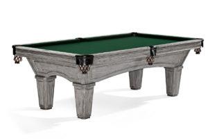 Brunswick Billiards Glenwood Pool Table Rustic Gray