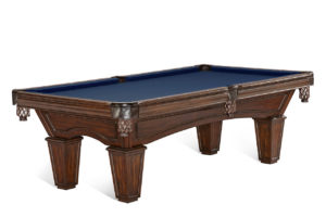 Brunswick Billiards Glenwood Pool Table Tuscana Blue Cloth