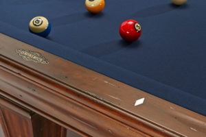 Brunswick Billiards Glenwood Pool Table Rail Tuscana Detail