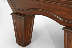 Brunswick Billiards Glenwood Pool Table Leg Tuscana Detail