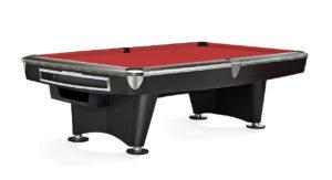 Brunswick Billiards Gold Crown II Pool Table in Walnut Red Cloth