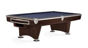 Brunswick Billiards Gold Crown II Pool Table in Walnut with Ball Return