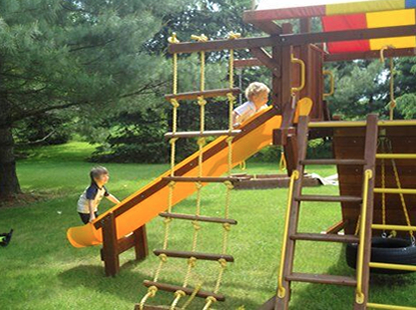 Kids Playset Built for a Lifetime of Play