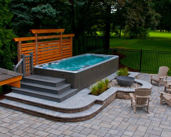 AquaTrainer 14fX Swim Spa - Skillful Home Recreation located in ...