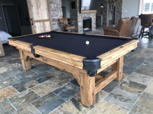 Olhausen Timber Ridge Pool Table in Room