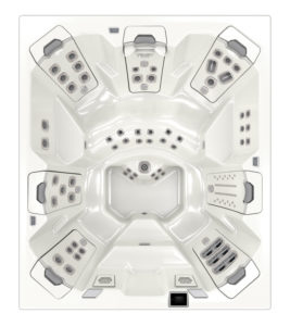 Bullfrog Spas Hot Tub M9 - top view