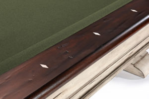 Brunswick Billiards Mackenzie Pool Table - Rail Detail