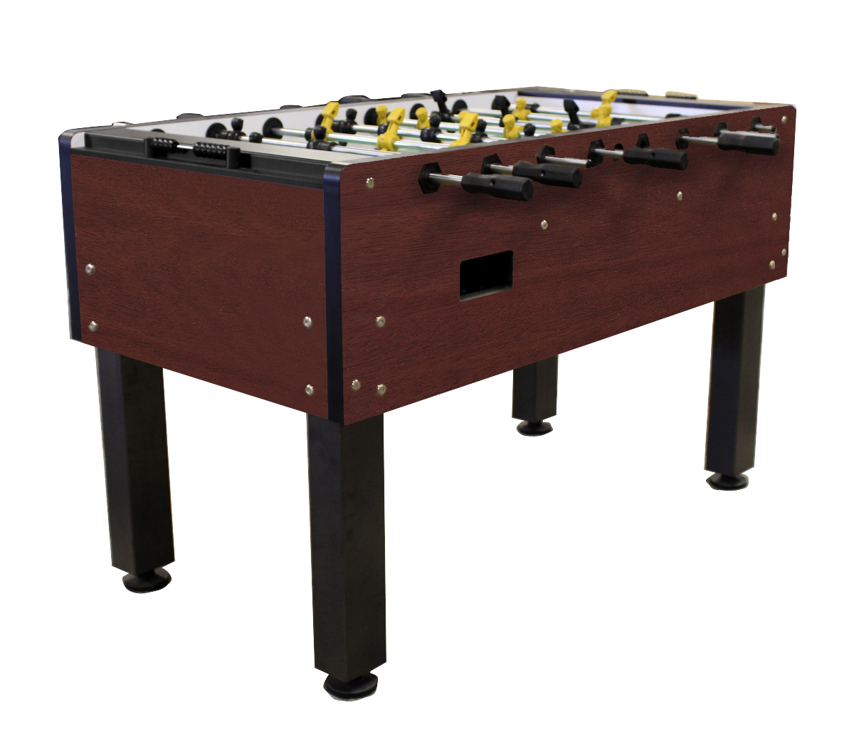 Olhausen Milan Foosball Table in Mahogany