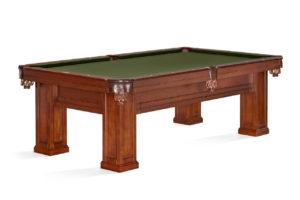 Brunswick Billiards Oakland II Pool Table in Chestnut