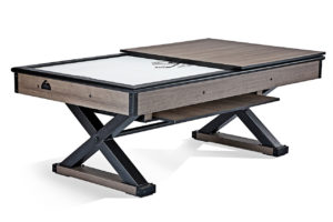 Brunswick Billiards Premier Air Hockey with Half Table Cover