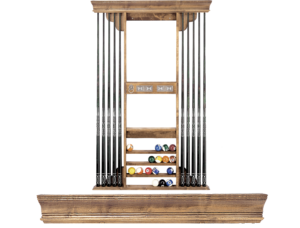 Olhausen Eclipse Pool Cue Wall Rack 722