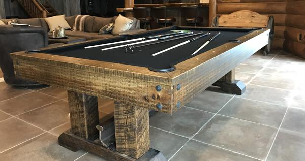 Olhausen Railyard Pool Table