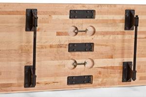 Brunswick Billiards-Shuffleboard-Delray II Underside
