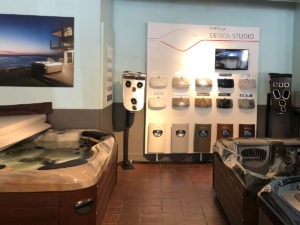 Skillful Home Recreation In-Store Design My Spa Center in Portland Maine