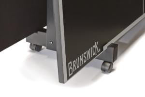 Brunswick Billiards Table Tennis Conversion Top Wheel Caddy